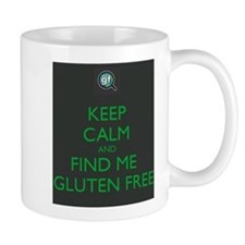 Keep Calm and Find Me Gluten Free Mug