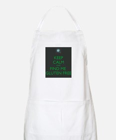 Keep Calm and Find Me Gluten Free Apron