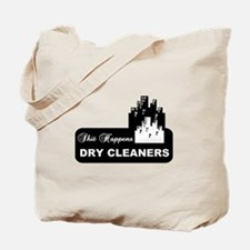 shit happens midtown dry cleaners shirt Tote Bag