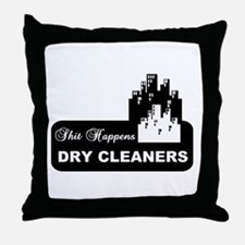 shit happens midtown dry cleaners shirt Throw Pill