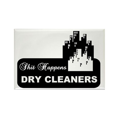 shit happens midtown dry cleaners shirt Rectangle