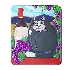 Winery cat Mousepad