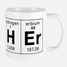 Teacher Made of Elements Small Mugs