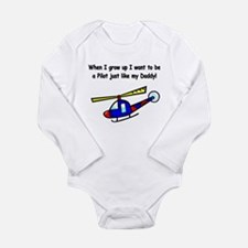 pilot chopper daddy Body Suit
