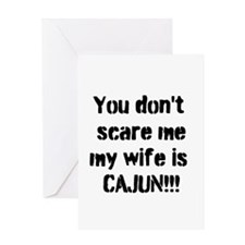 Cajun Wife Greeting Card