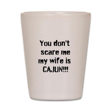Cajun Wife Shot Glass
