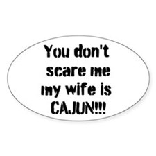 Cajun Wife Decal
