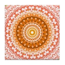 Peaches N Cream Tile Coaster