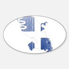 Martinique Flag and Map Wood.png Decal