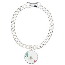 Mexico Flag And Map Bracelet