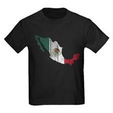Mexico Flag And Map T