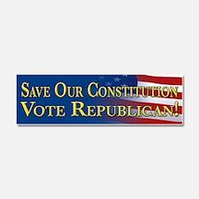 Save Our Constitution Vote Republican! Car Magnet