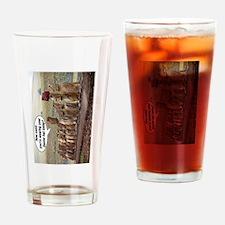 EasterIslandHatMeme MP Drinking Glass