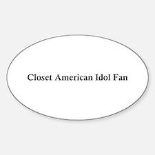 American Idol Oval Decal