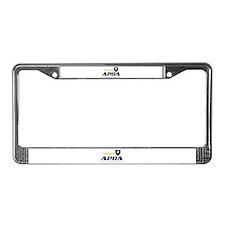 Apoa License Plate Frame