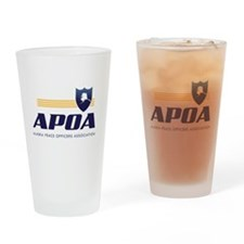 APOA Drinking Glass