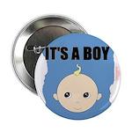 IT'S A BOY Button