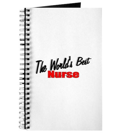"""""""The World's Best Nurse"""" Journal"""
