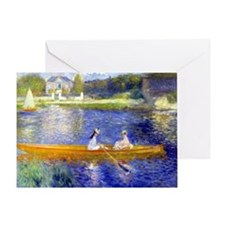 Renoir - The Skiff Greeting Card