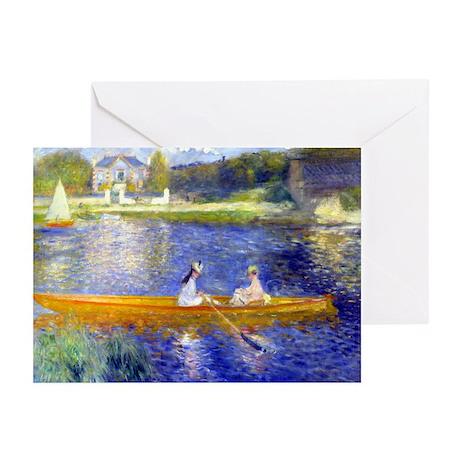 Renoir - The Skiff Greeting Cards (Pk of 10)