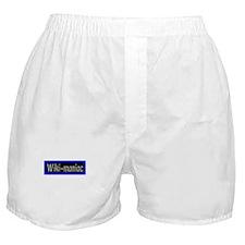 """Wiki-maniac"" Boxer Shorts"