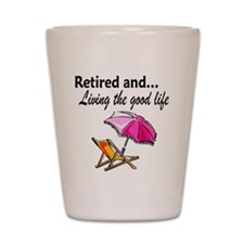 RETIREMENT Shot Glass