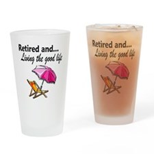RETIREMENT Drinking Glass