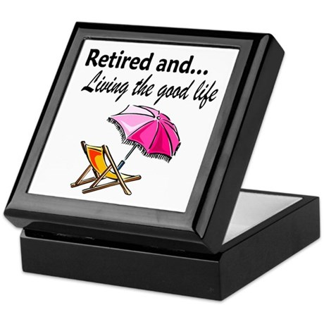 RETIREMENT Keepsake Box
