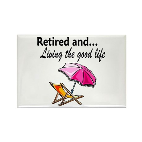 RETIREMENT Rectangle Magnet (10 pack)