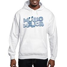 Retro Music Major Blue Jumper Hoody