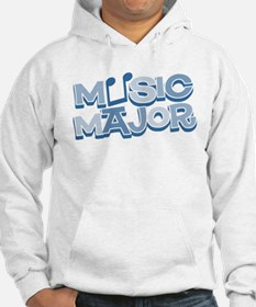 Retro Music Major Blue Jumper Hoody