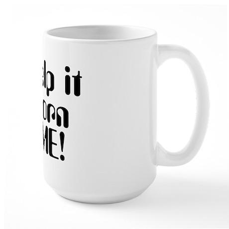 Born Awesome Large Mug