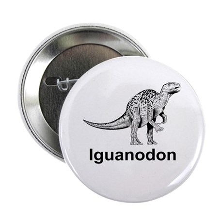 "Iguanodon 2.25"" Button (10 pack)"