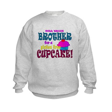 gluten free cupcake Kids Sweatshirt