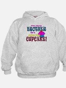 gluten free cupcake Hoodie