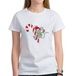 Candy Cane Mouse Women's T-Shirt