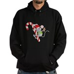 Candy Cane Mouse Hoodie (dark)