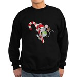 Candy Cane Mouse Sweatshirt (dark)