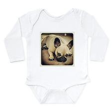 Im listening Long Sleeve Infant Bodysuit