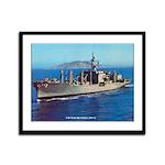 USS NIAGARA FALLS Framed Panel Print