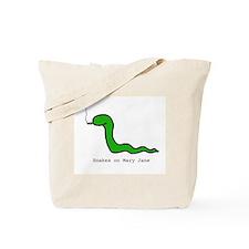 Snakes on Maryjane Tote Bag