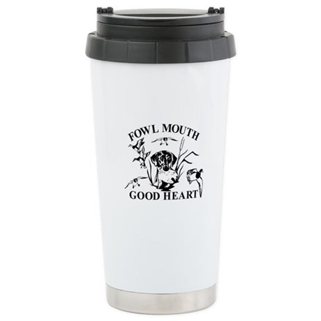 LAB GOOD HEART Stainless Steel Travel Mug