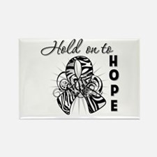 Carcinoid Cancer Hope Rectangle Magnet
