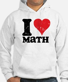 I Love Math Jumper Hoody