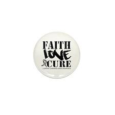 Faith Cure Carcinoid Cancer Mini Button (10 pack)