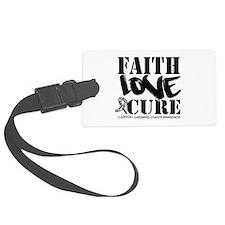 Faith Cure Carcinoid Cancer Luggage Tag