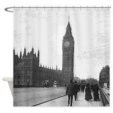 Vintage London Shower Curtain