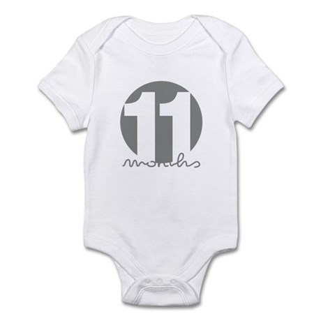 11 Month Identifier Infant Bodysuit