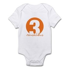 3 Month Identifier Infant Bodysuit