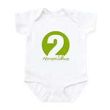 2 Month Identifier Infant Bodysuit